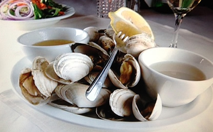 Steamed Clam Plate